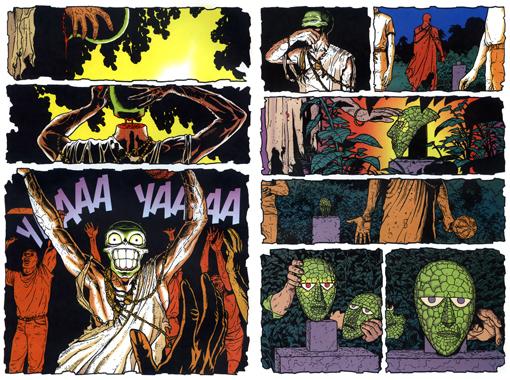 Páginas de La Máscara: El Retorno.