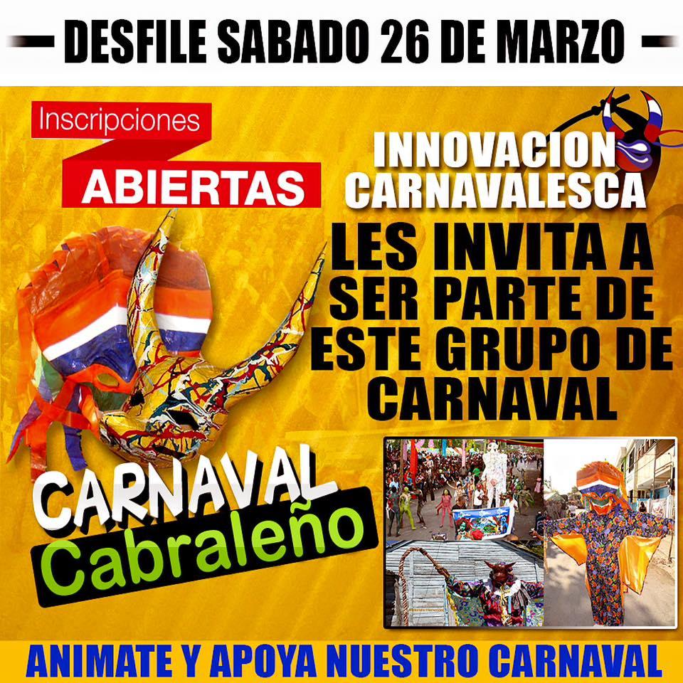 Carnaval Cabraleño Semana Santa 2016