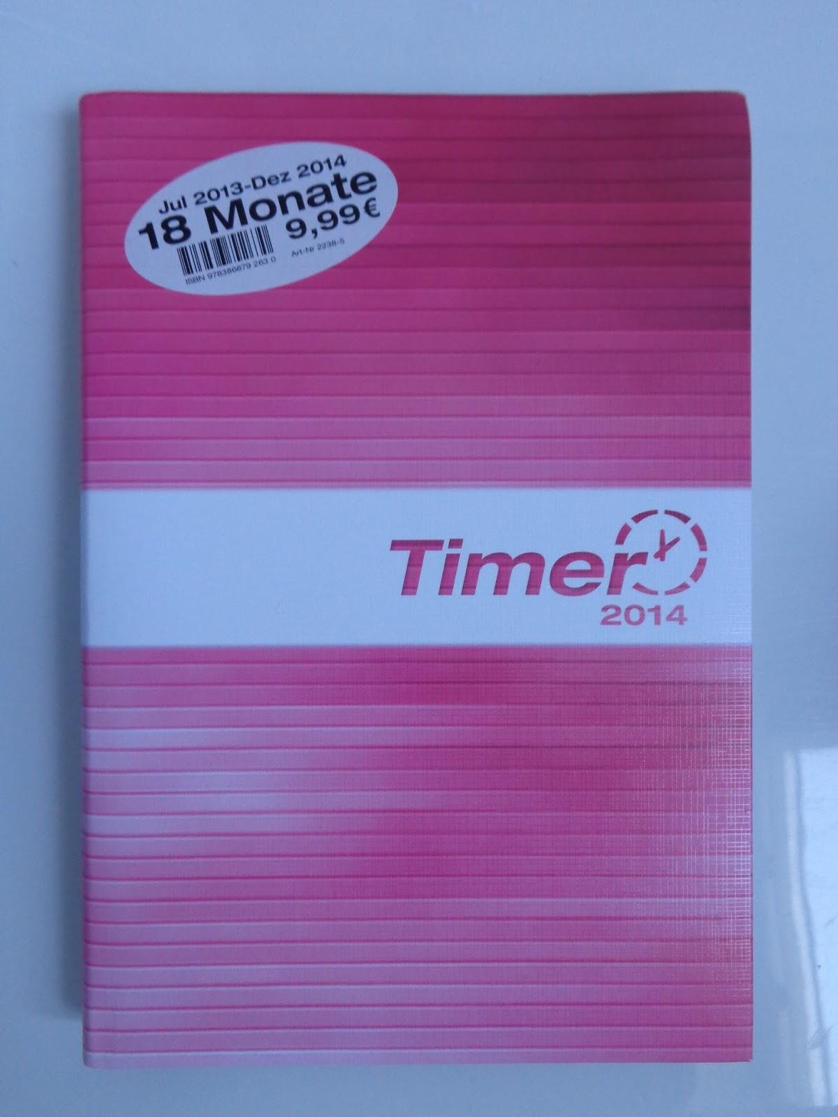 Kalender, Taschenkalender, pink, rosa