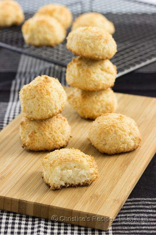 椰絲蛋白球 Coconut Macaroons01