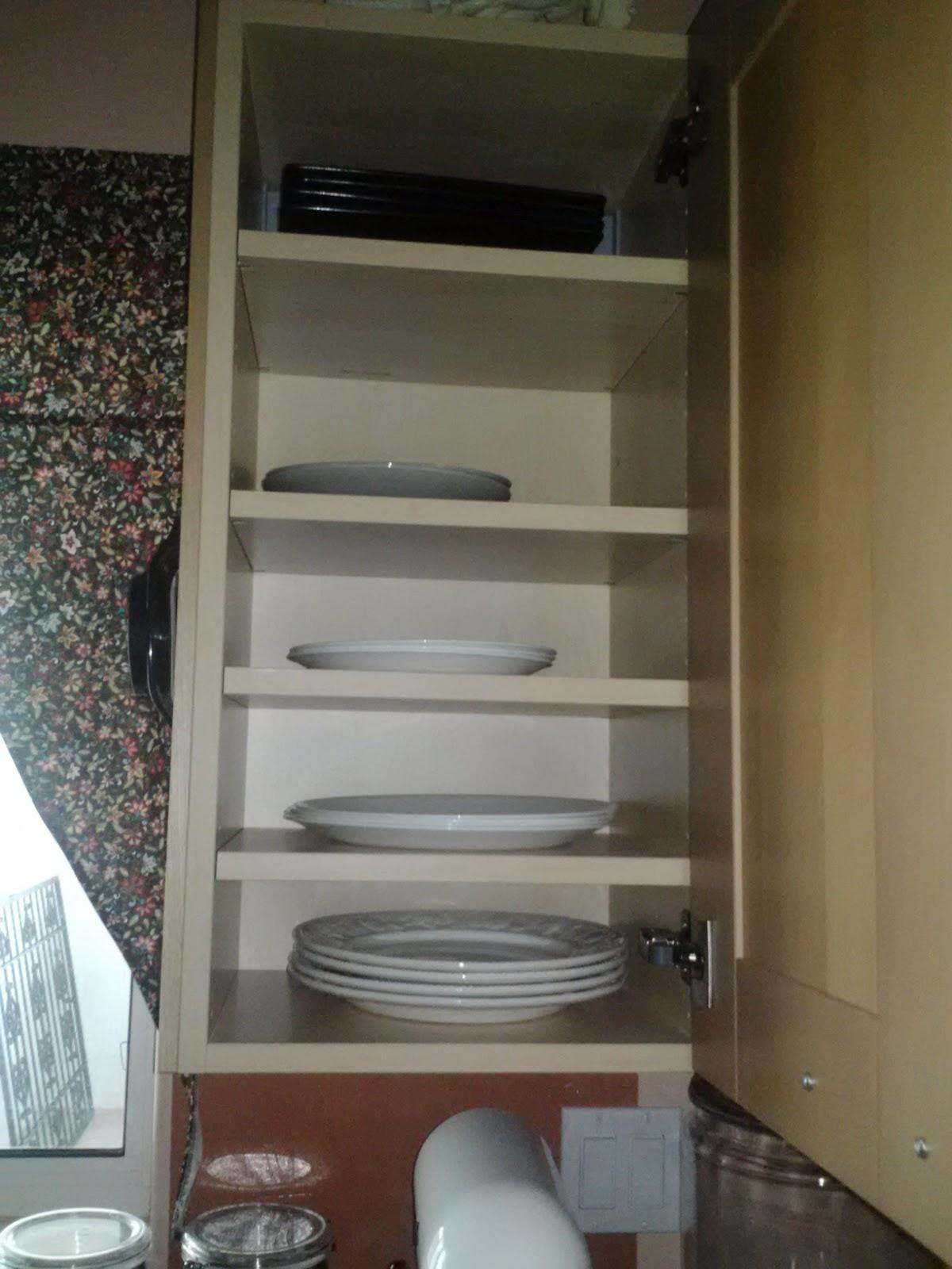 Kitchen CabiAdjustable Shelves