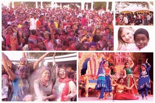 Radha Madhav Dham Holi 2014 of Jagadguru Kripalu Ji Maharaj