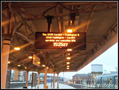 Cancelled train