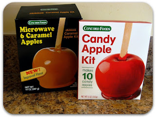 Easy_Halloween_Snacks_Candy_Caramel_Apple_Bites_mummy_dogs_tryitmom