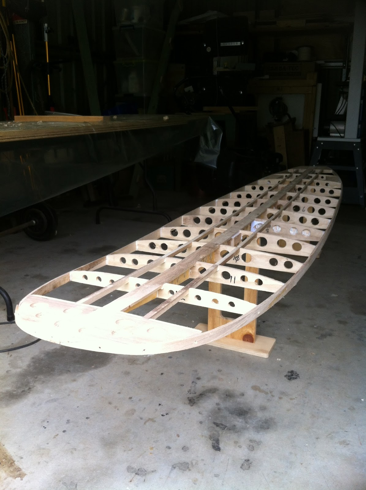 Wood Buddha Building Wood Surfboards Building A Foam Core Wood