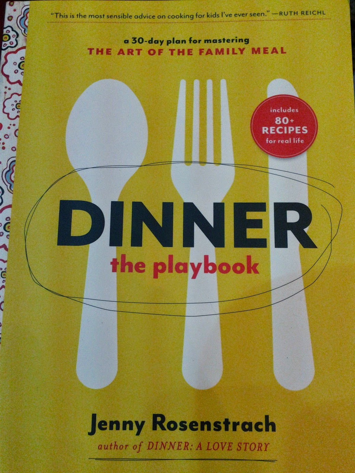 Dinner the playbook, Jenny Rosenstrach