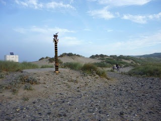 Yarn Bombing on Cornish Dog Walk