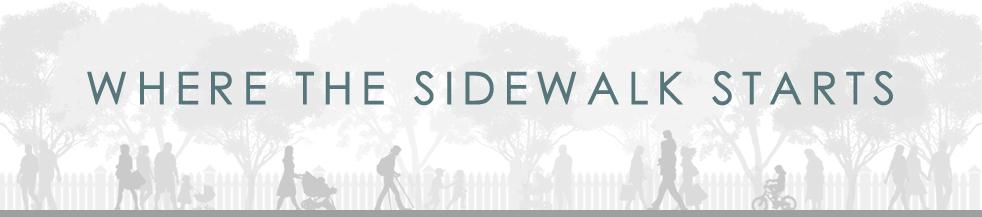 Where the Sidewalk Starts