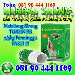 obat pelangsing badan meizitang strong version