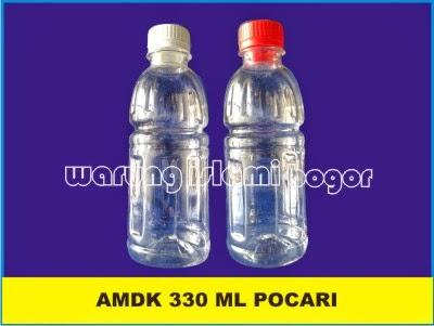 Jual Botol Plastik Pocari Sweat dan Mogu Mogu Ukuran 330ml
