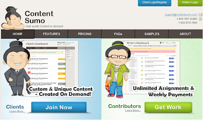 make extra money online from contentsumo