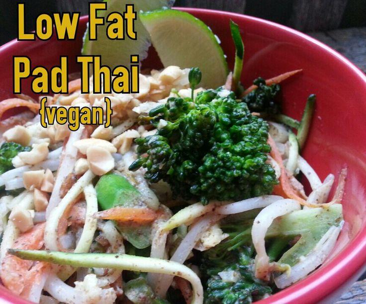 how to make vegan pad thjai