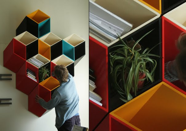 15 Brilliant Bookshelves and Unusual Bookcases - Part 6.