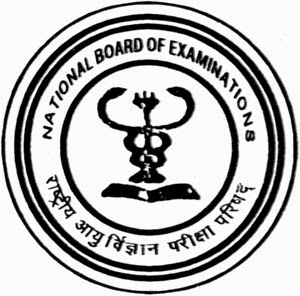Natinal Board of Examination logo