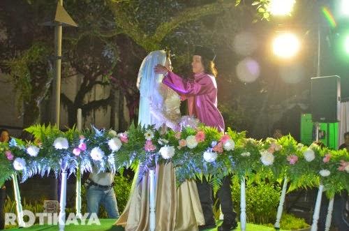Gambar Sekitar Perkahwinan Raja Azmi