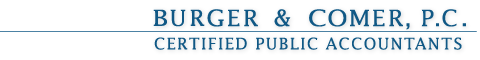 Burger & Comer, P.C. Certified Public Accountants