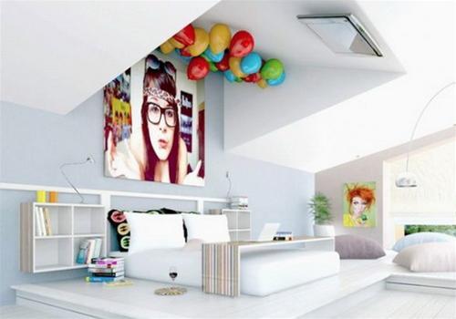 habitaciones tem ticas para adolescentes dormitorios con estilo. Black Bedroom Furniture Sets. Home Design Ideas