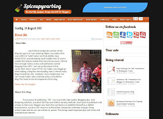 Spice Up Your Blog Template