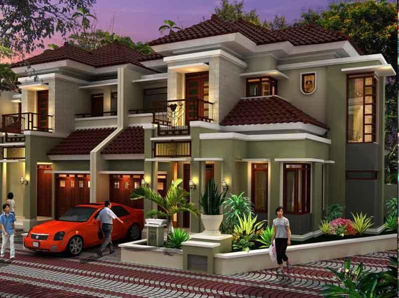 Desain Model Rumah Mewah 2 Lantai Terkini