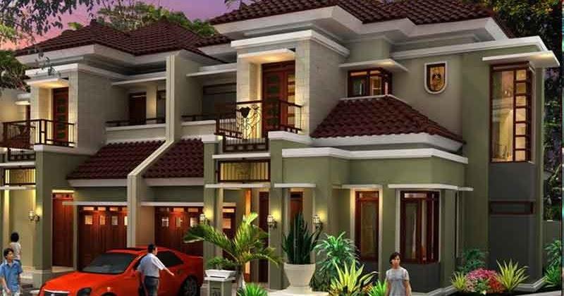konsep gambar desain rumah mewah minimalis 2015 rumah