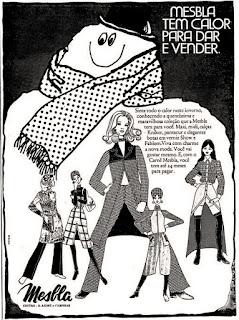 Loja Mesbla, Brazil fashion in the 70s, moda anos 70; 1971; propaganda anos 70; história da década de 70; reclames anos 70; brazil in the 70s; Oswaldo Hernandez
