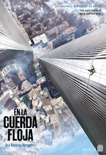 En la Cuerda Floja / El Desafío: The Walk Poster