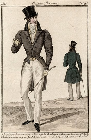 Costume Parisiens 1828