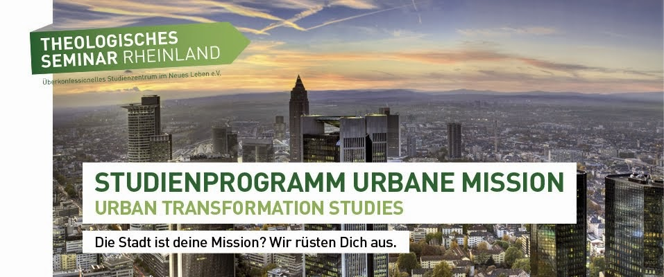 Studienprogramm Urbane mission