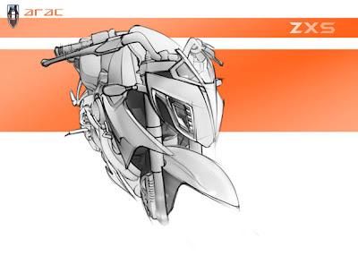ARAC ZXS Motorcycle Concept