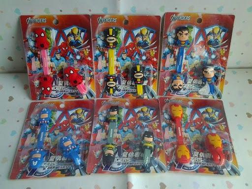 Super hero collections; perlengkapan super hero; pernak pernik super hero; marvel collections; super hero tools; pengikat kabel; action figure