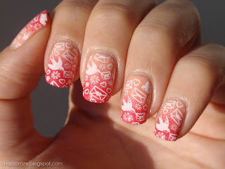Essence modern romance essence naughty and pink stamping cheeky ch53 go pink october