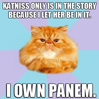 Buttercup Cat Hunger Games