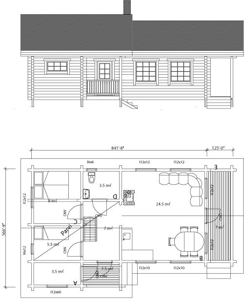 Viviendas unifamiliares arquitectura y construccion julio for Plano construccion casa