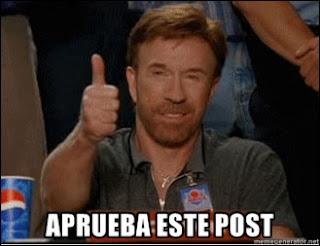 Gracias Chuck!