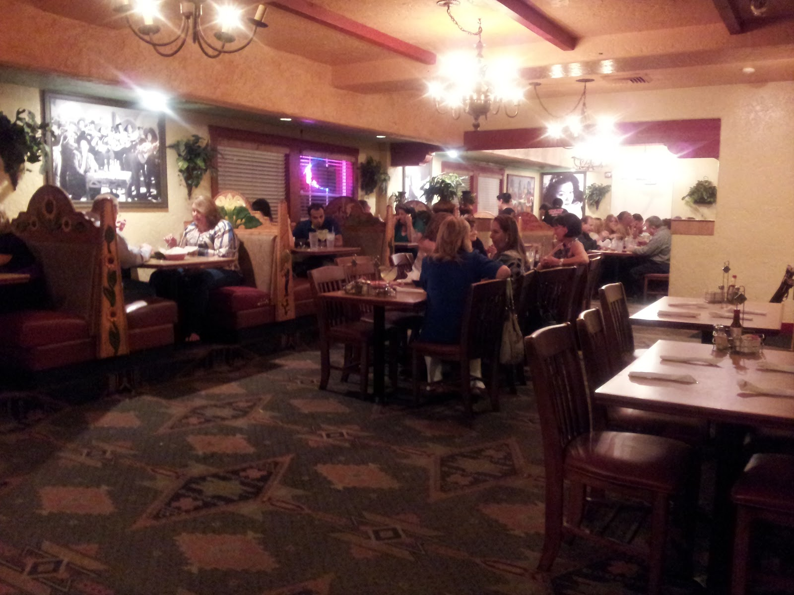 Dining Floor of Azteca Real in Davie, FL