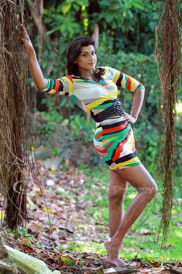 Thilini Gunasekara sri lankan model