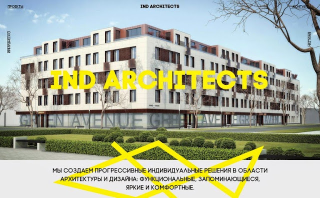 Inspiration by Iscomigoo Webdesign: IND Architects, site internet