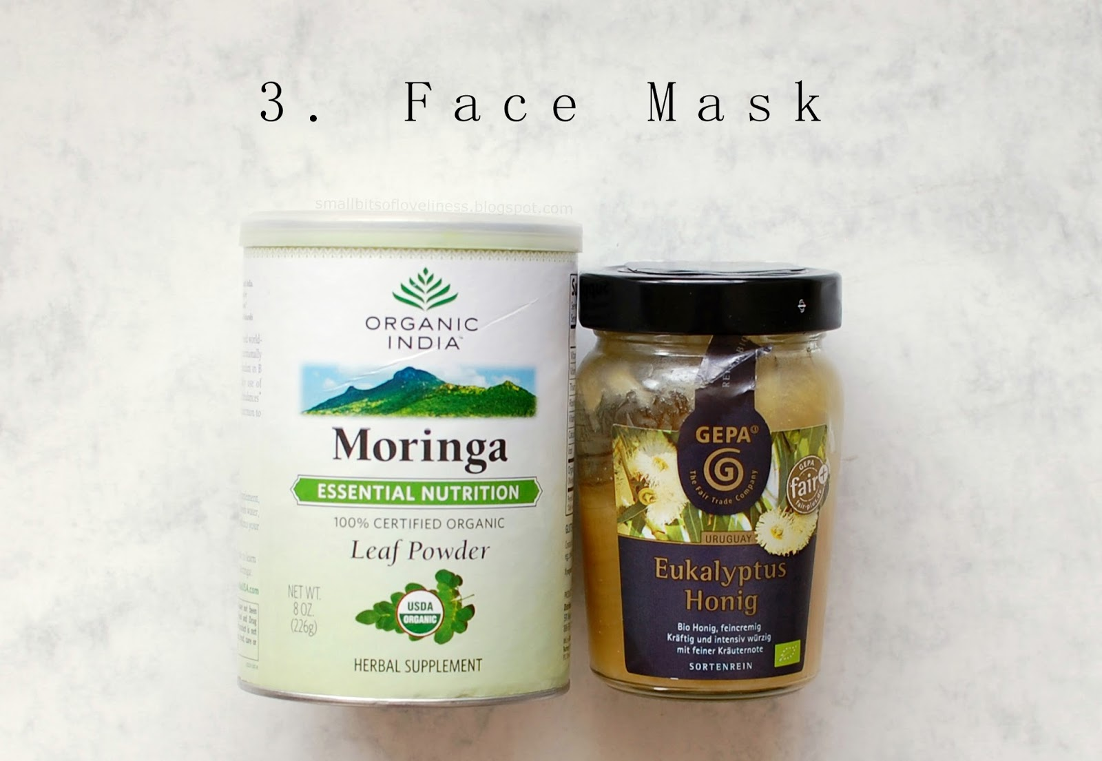 Moringa Eucalyptus Honey Mask