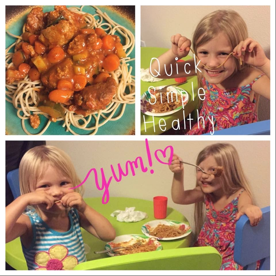 Healthy, Clean, Quick Kid Approved Spaghetti Recipe