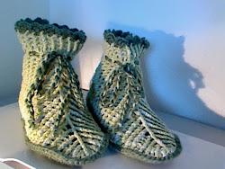 botas de lã
