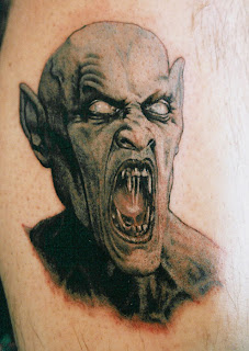 Vampire Tattoo Ideas - Vampire Tattoo Design Photo Gallery