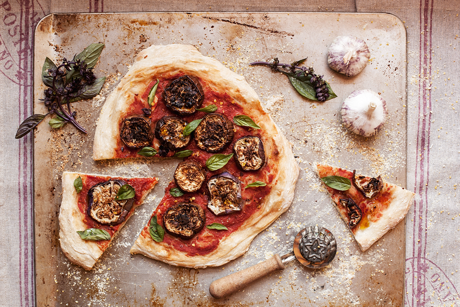 No-Knead Vegan Pizza