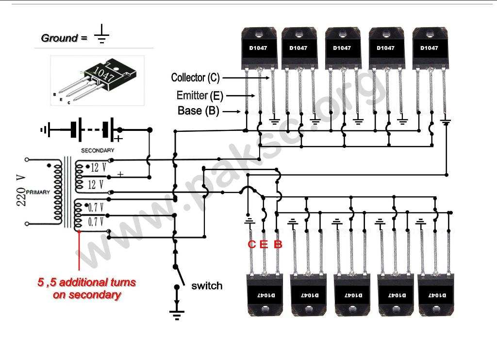 500 watt 12 vdc to 220 vac power inverter ups construction in urdu rh paksc org UPS Network Diagram Basic Circuit Diagram