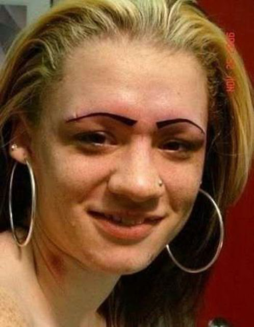 Bad Looking Eyebrows