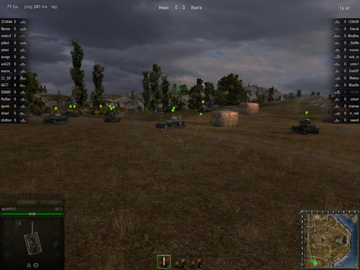 World of tanks gtx 950