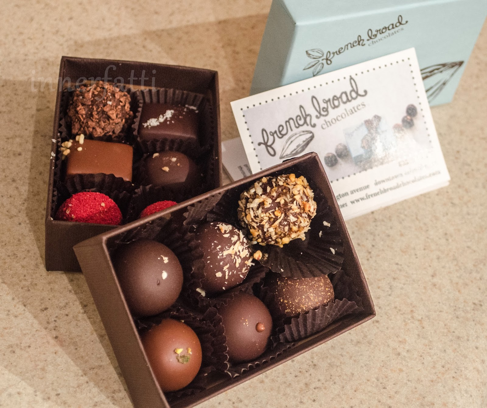 Road Trippin ~ French Broad Chocolatiers, Asheville, NC | foodbaby