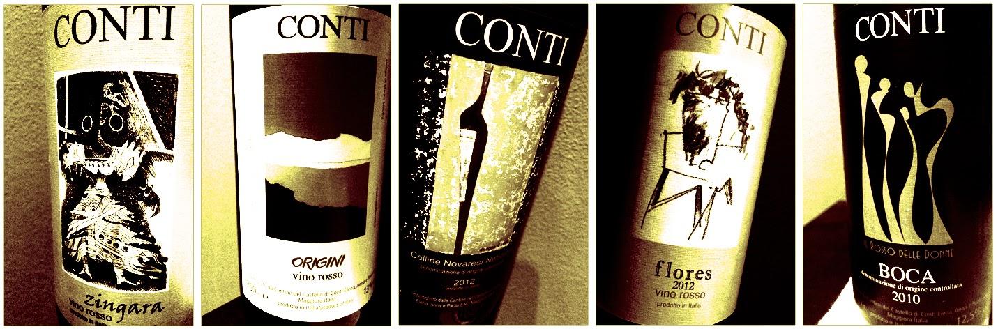 CINQUE VINI, TRE SORELLE, UN TERRITORIO > TUTTI I ROSSI DEL CASTELLO CONTI... IL POST DEFINITIVO