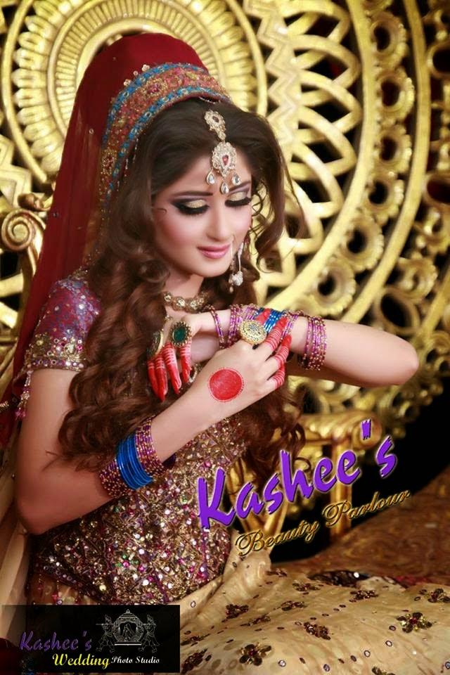 Kashee S Mehndi Hairstyles : Kashee s bridal makeup