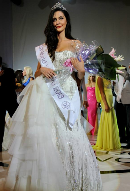 Miss World Kosovo 2013 Antigona Sejdiu