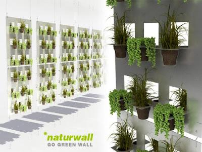 Huerto urbano huertos verticales - Como hacer un jardin vertical de interior ...